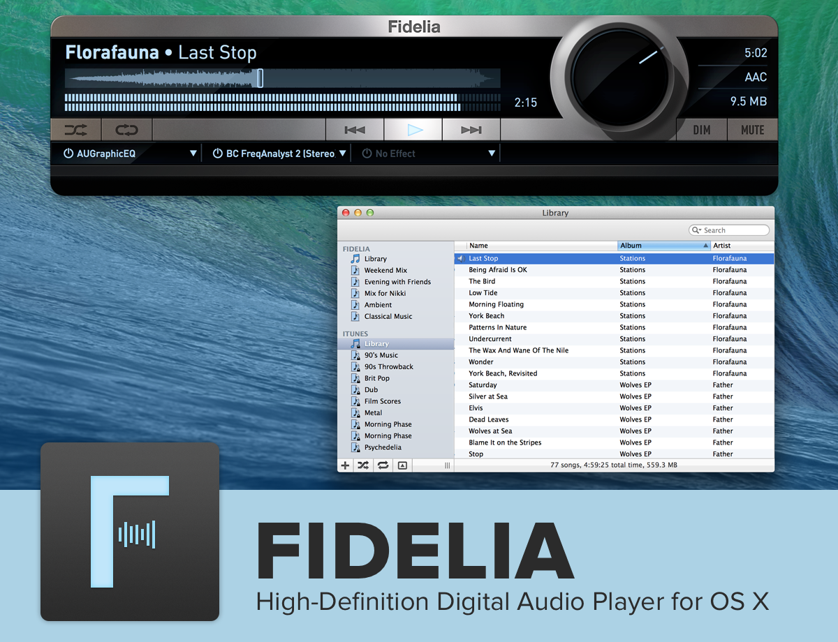 audiophile software mac os x